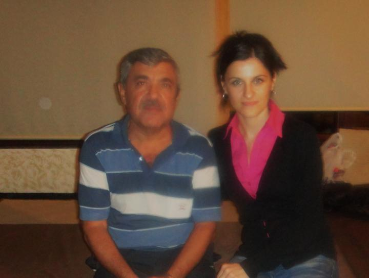 Fatima Devrişeva Ali Hamzaoğlu ile, Antalya 2011