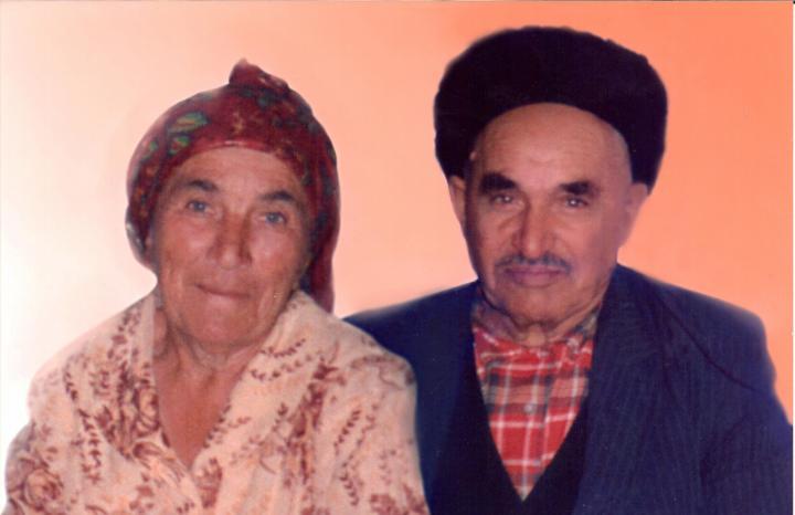 Hamza Gülalioğlu ve eşi Aziza Hanım.